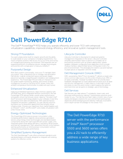 Dell PowerEdge R710 Strong IT Foundation Lifecycle Controller