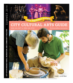 city cultural arts Guide 14 0 2
