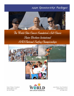 The World Skin Cancer Foundation's Fall Classic Slater Brothers Invitational