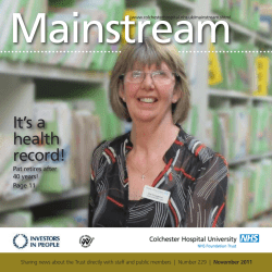 Mainstream It's a health record!