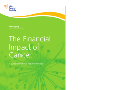 The Financial Impact of Cancer Managing