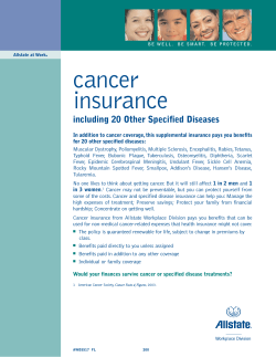 cancer insurance including 20 Other Specified Diseases