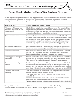 Senior Health: Making the Most of Your Medicare Coverage