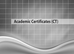 Academic Certificates (CT)