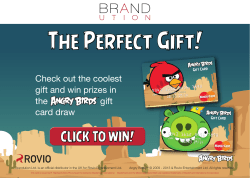The Perfect Gift! CLICK TO WIN! Check out the coolest
