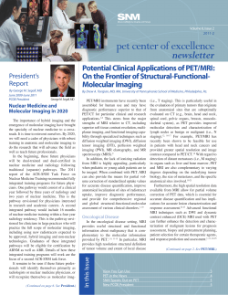 pet center of excellence newsletter