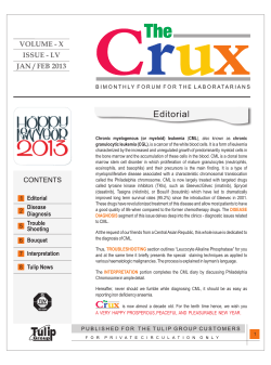 VOLUME - X ISSUE - LV JAN / FEB 2013