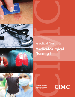 CIMC Medical-Surgical Nursing I Practical Nursing