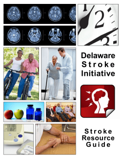 Delaware S t r o k e Initiative Resource