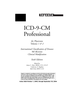 ICD-9-CM Professional