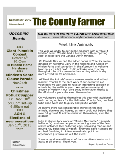 The County Farmer Upcoming Events Meet the Animals