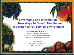Leveraging Lab Information in New Ways to Benefit Healthcare
