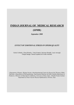 INDIAN JOURNAL OF MEDICAL RESEARCH (IJMR)