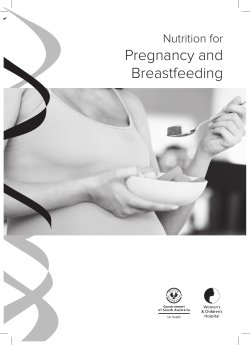 Pregnancy and Breastfeeding Nutrition for
