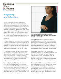 Pregnancy and Infections