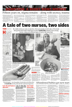 A tale of two nurses, two sides