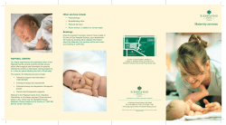 Maternity services Other services include Bookings