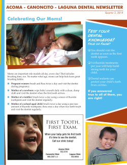 Celebrating Our Moms! Test your dental knowledge!