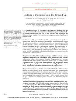 Building a Diagnosis from the Ground Up clinical problem-solving