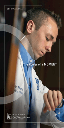 The Power of a MoMenT 2010-2011 Annual Report