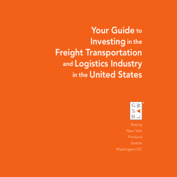 Your Guide  Investing Freight Transportation
