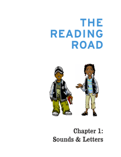 THE READING ROAD Chapter 1: