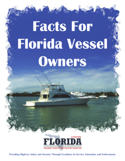 Facts For Florida Vessel Owners
