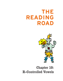 THE READING ROAD