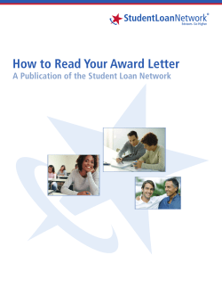 How to Read Your Award Letter StudentLoan An Edvisors Company