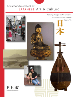 Japan e s e  A Teacher's Sourcebook for