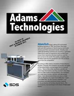Adams Technologies AdamsTech As Seen In