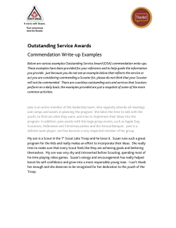 Outstanding Service Awards Commendation Write-up Examples