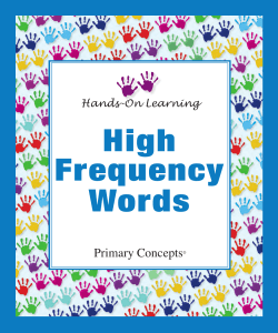 High Frequency Words Primary Concepts