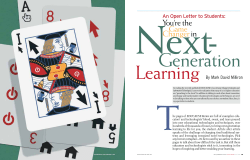 Next-  Generation Learning