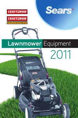 2011 Lawnmower