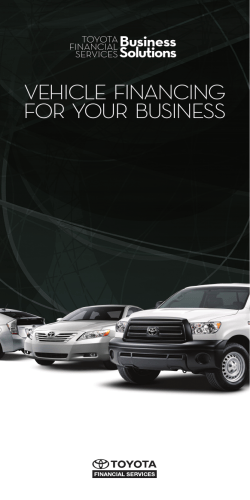Vehicle  Financing For  Your  Business Business Solutions
