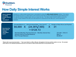 How Daily Simple Interest Works