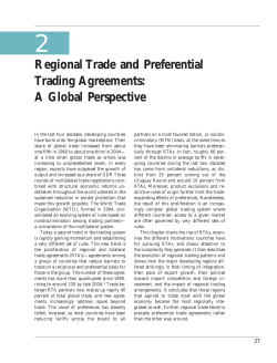2 Regional Trade and Preferential Trading Agreements: A Global Perspective
