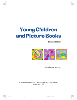 Young Children and Picture Books Second Edition Mary Renck Jalongo