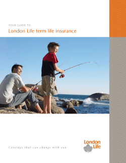 London Life term life insurance Your guide to