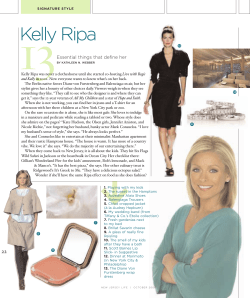 13 Kelly Ripa Essential things that define her
