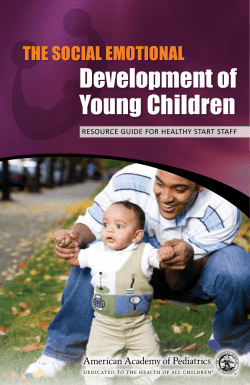Development of Young children The Social emoTional