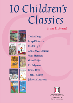 CC 10 Children's Classics from Holland