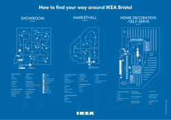 How to find your way around IKEA Bristol HOME DECORATION SHOWROOM /SELF-SERVE