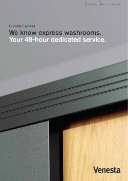 We know express washrooms. Your 48-hour dedicated service. Cubicle Express (22.3)