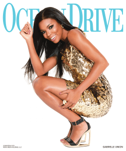 Gabrielle Union oceandrive.com niche media holdings, llc