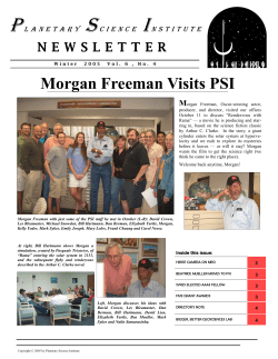 P S I Morgan Freeman Visits PSI