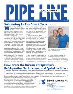 PIPE LINE W