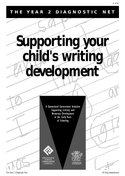 Supporting your child's writing development