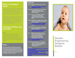 What is a Designer Baby?